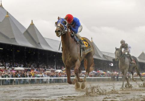 Summer Bird wins Travers.