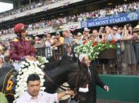 Da' Tara wins Belmont Stakes